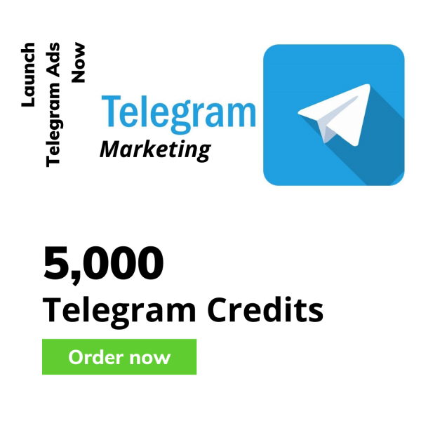 5000 telegram credits