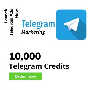 10000 telegram credits