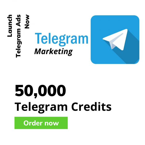 50000 telegram credits